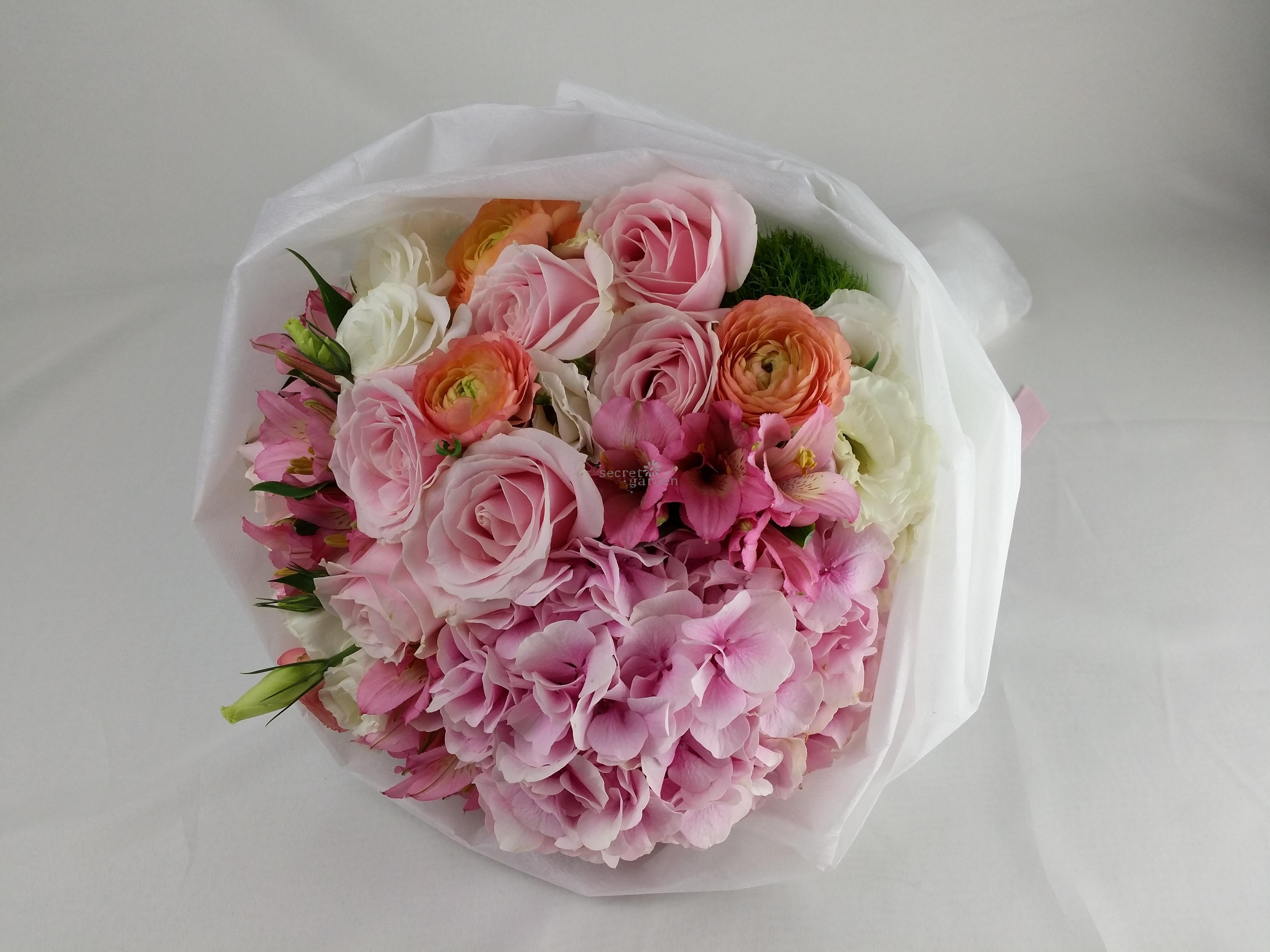 Hb006 Sweet Pink Lady Secret Garden