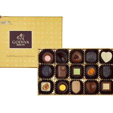 Godiva Gold Discovery Collections